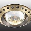369645 Декоративный встраиваемый неповоротный светильник