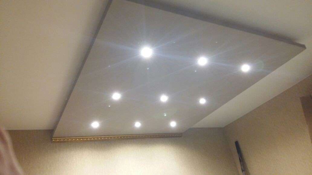 Натяжной потолок. Технология и преимущества